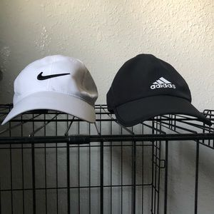 Adidas and Nike hat